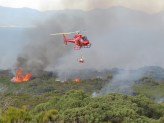 Alpine and Greater Gippsland - Planned burning with an aerial driptorch © DELWP
