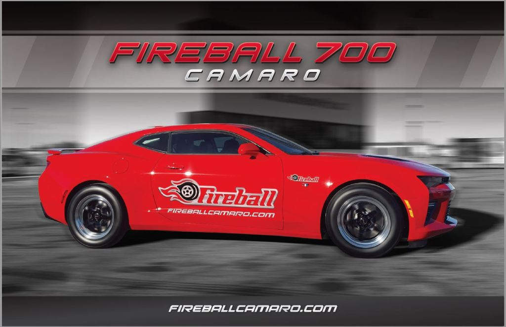 Red Fireball Camaro Makes 720 Horsepower