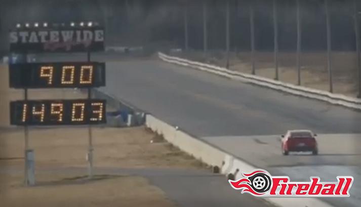 Fireball Setting New Camaro Quartermile Record