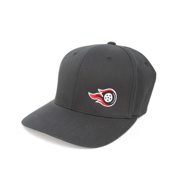 Fireball Camaro Black Hat with Solid Back