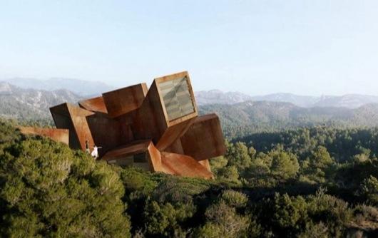 FireballTim_Polygonal-House-by-Didier-Faustino
