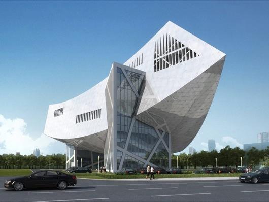daniel-libeskind-zhang-zhidong-modern-industrial-museum-park-china-Fireball_Tim