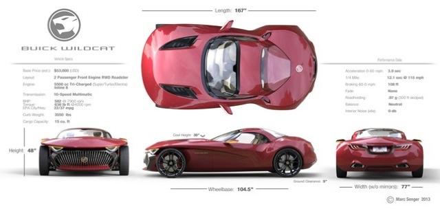 Fireball Malibu Vlog Buick Wildcat Concept 12