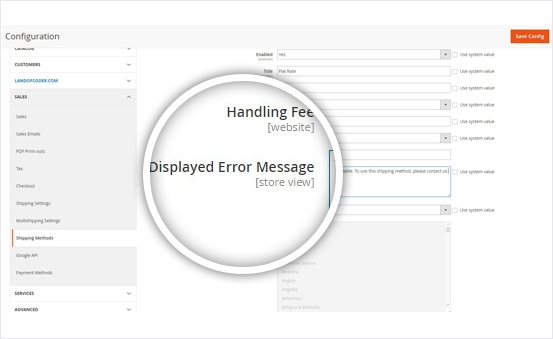 Magento 2 Multiple Flat Rate Shipping by Landofcoder