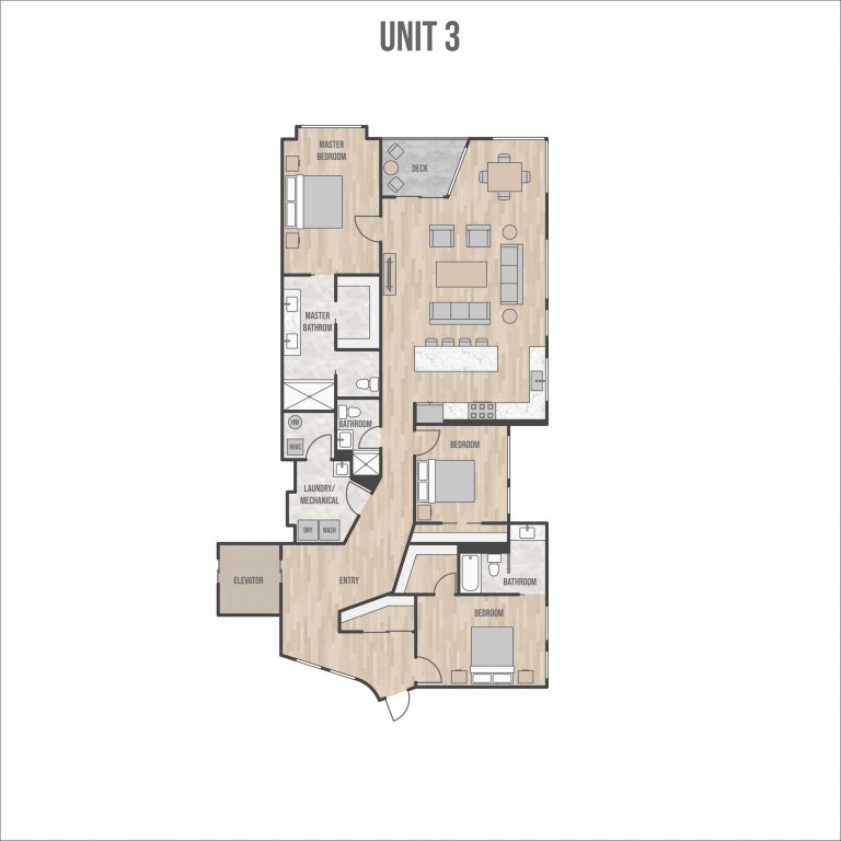 Coastal Place floorplan Anchorage Alaska condo Hultquist homes