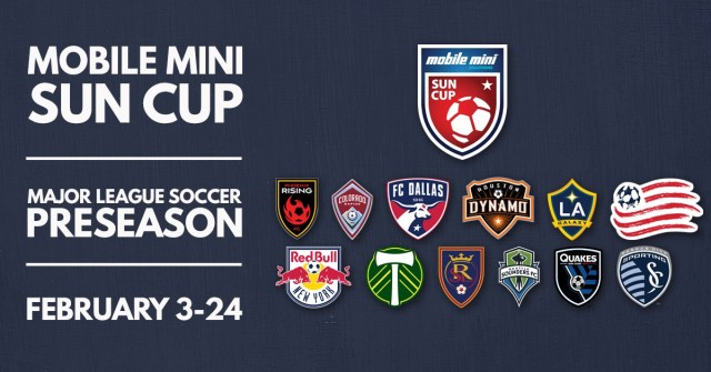 Phoenix Rising FC, FC Tucson to host 2018 Mobile Mini Sun Cup