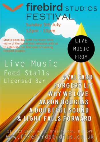 Firebird Festival 2015 Poster