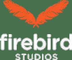 Firebird Studios White logo