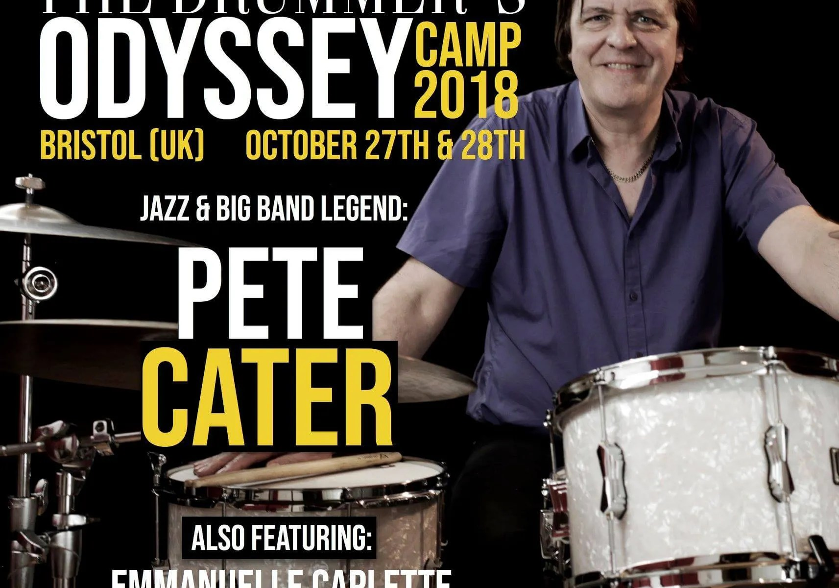 Drummers Odyssey - Pete Cater