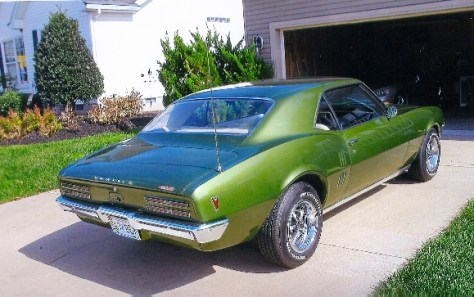 '68 Firebird 400 of Gary Thomas