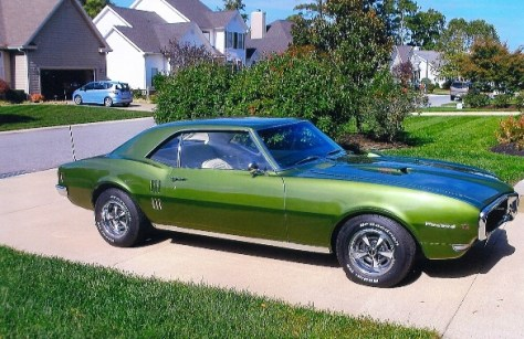 '68 Firebird 400 of Gary Thomas