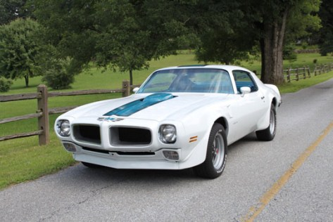 '70 Trans Am of Bob Himes from Spring City, Pennsylvania