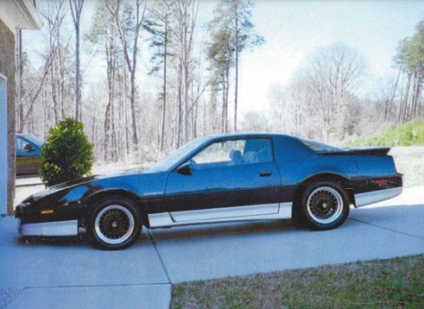 1987 Trans Am of Walter Stasiewski from Denver, North Carolina