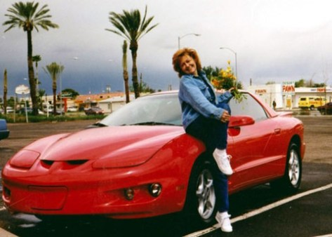 Donna with '98 Formula of Guy Ferstl from Goodyear, Arizona