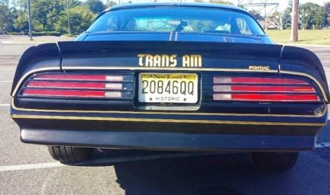 Nicky Sindora's restored '77 Trans Am Special Edition