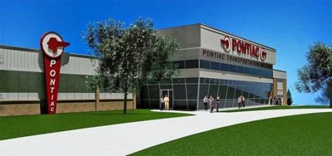 Pontiac Transportation Museum Rendering