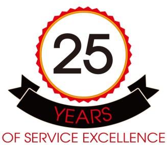 25 anniversary logo