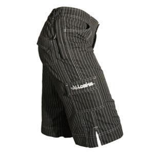 Loeka-Freeride-Shorts-Pinstripe-Side