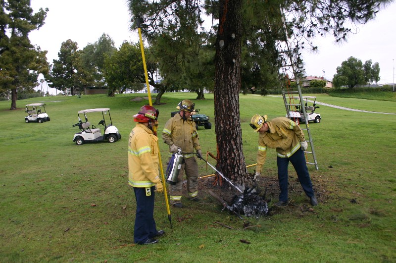 Image result for struck by lightning on golf course