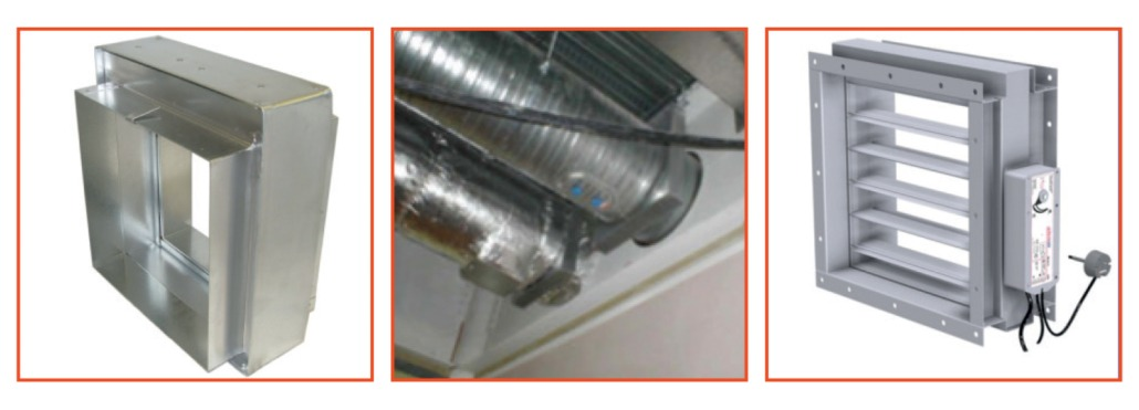 fire rated ductwork fire dampers