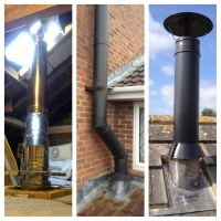Fireplace Chimney Pipe stove chimney installing wood stove ...