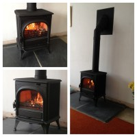 Stove Installation Photos