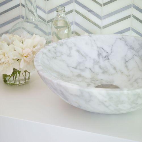 Alimia marmor håndvask 3