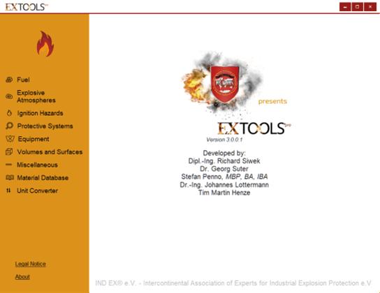 ExTools Pro Startpage