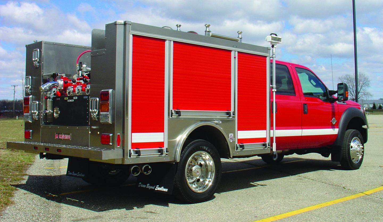 Type 6 Muv Firefighter Trucks