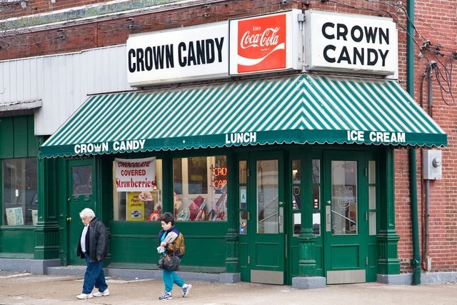 Things to do in St Louis Crown Candy Kitchen  fireflies
