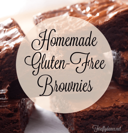 Recipes for Gluten Free chewie brownie