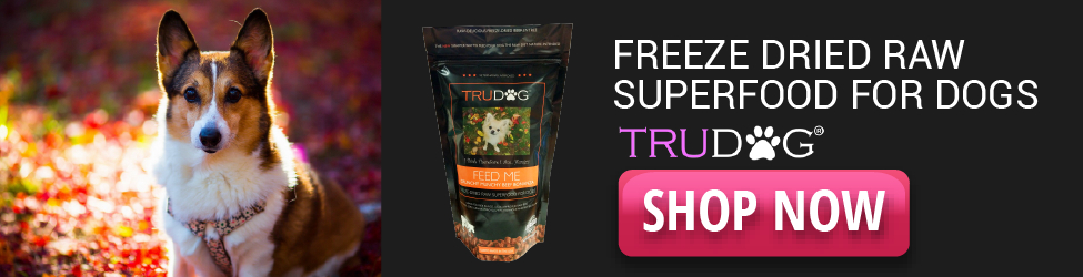 TruDog - Freeze Dried Raw Superfood - 975x250