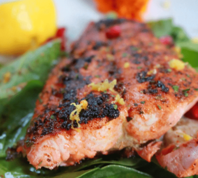 Piquant Post Chermola salmon recipe