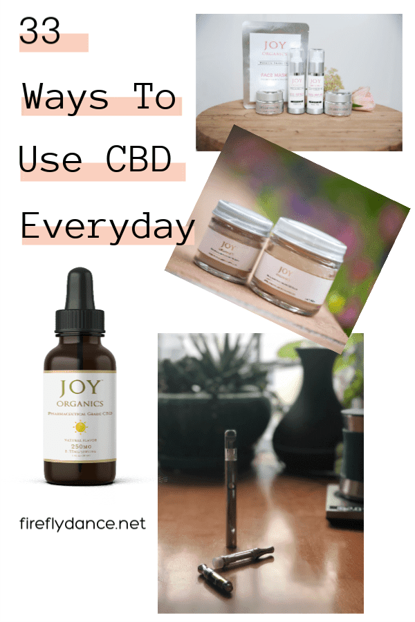 33 New Ways To Use CBD Everyday
