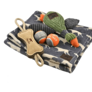 5 Piece Big Dog Blanket & Play Pack.