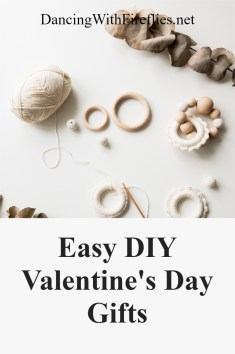 Easy DIY Valentine's Day Gifts