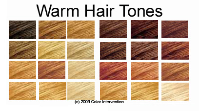 These mean that you have warm toned hair also fire ice earth and air rh fireiceearthandair wordpress