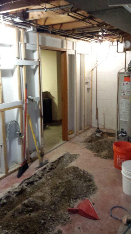 Demolition work part 3