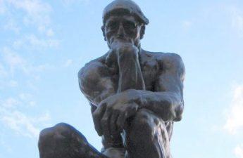 The Thinker by Rodin