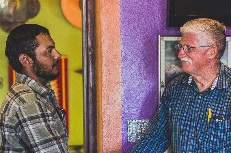 Freddy Osuna and Jim Grasky