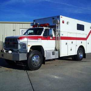 1991 Ford F800 Walk-In Rescue For Sale