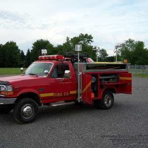 1996 Ford F350 4x4 Mini Pumper For Sale