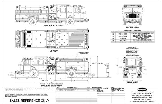 80375 GAP FIRE COMPANY Drawing