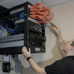 Network Wiring Best Diagram Software Firelogic S Technicians Are Trained In With The Latest Skills And Can Install A Of Any Size
