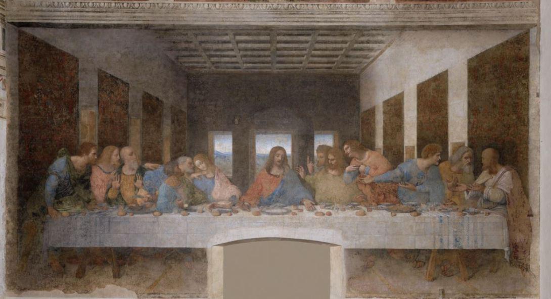 レオナルド・ダ・ヴィンチ「最後の晩餐」@ミラノ