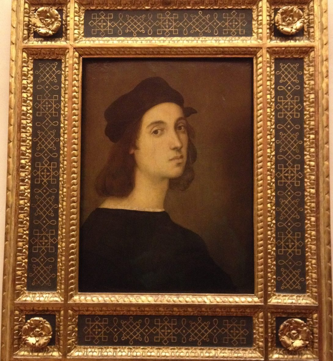 自画像 ラファエロ・サンツィオ, 1504-06 ウフィツィ美術館, フィレンツェ
