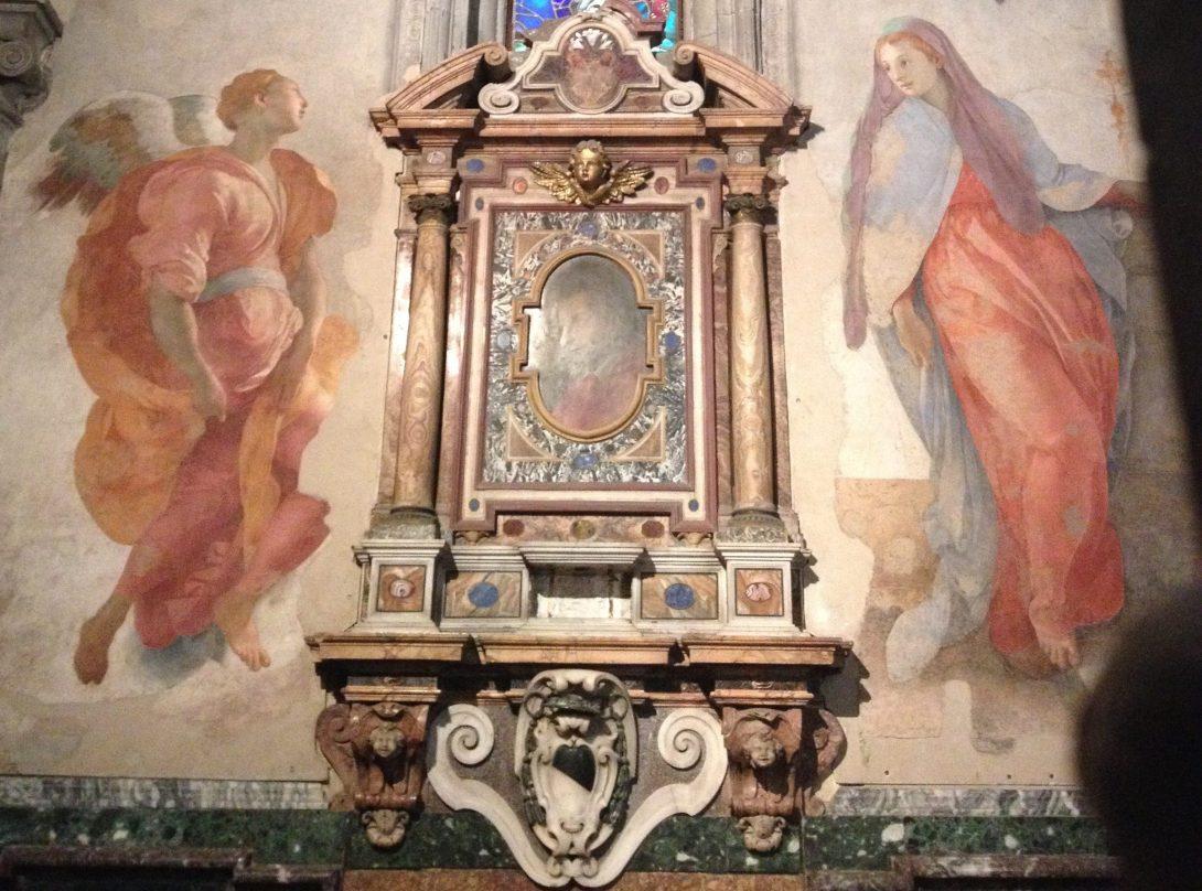 受胎告知 ポントルモ, 1527-28 サンタ・フェリチタ教会, フィレンツェ