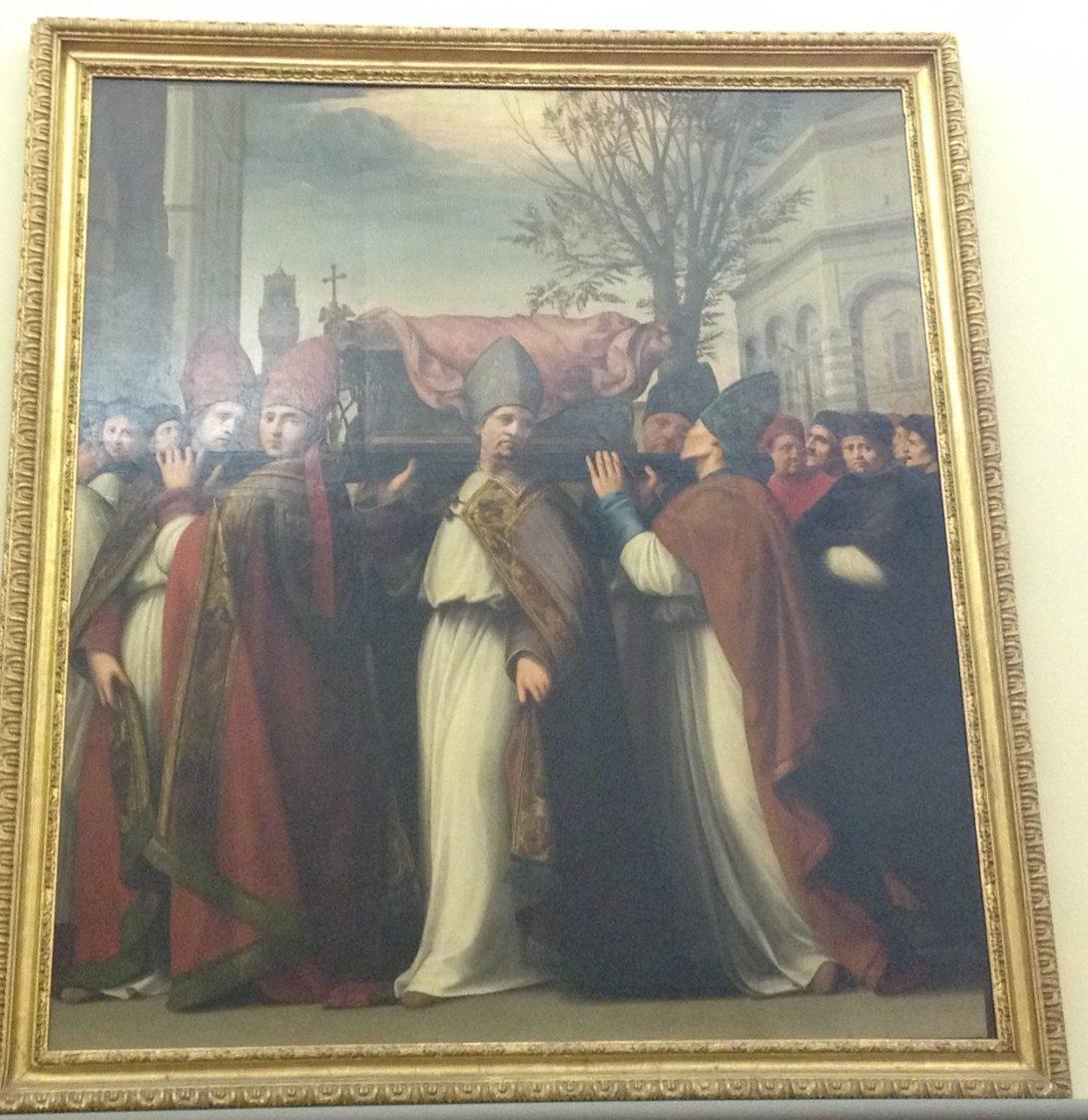 聖ザノビの移動 リドルフォ・デル・ギルランダイオ, 1516頃 アカデミア美術館, フィレンツェ