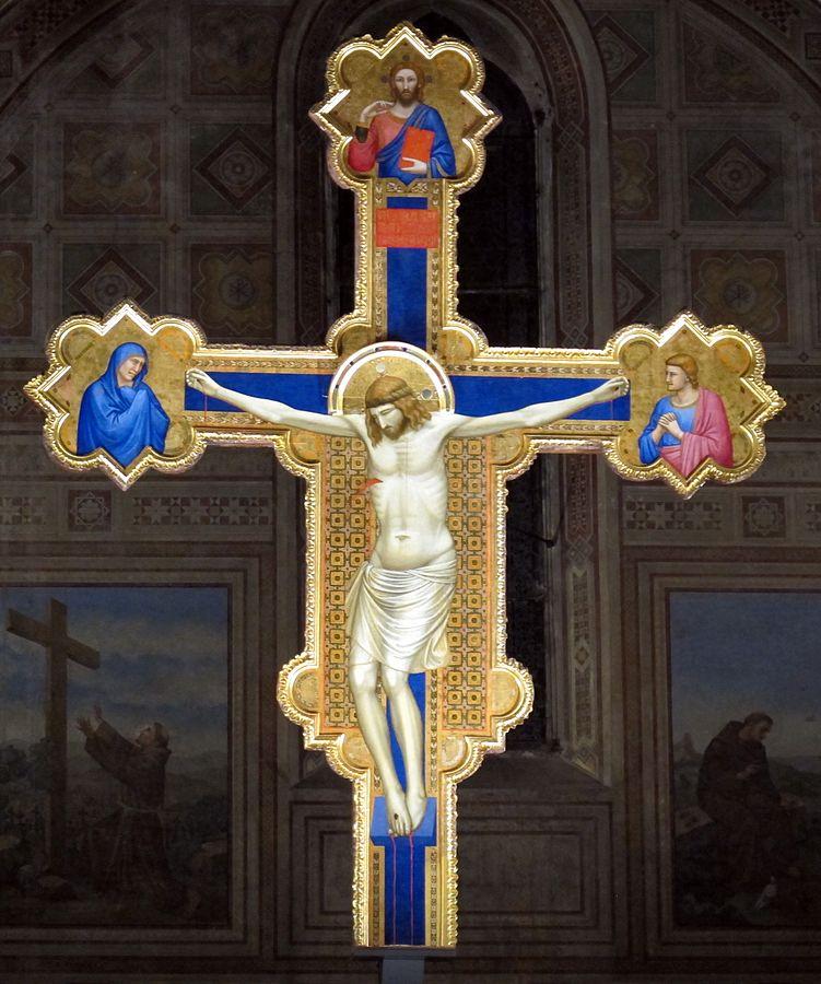 十字架磔刑像 ジョット・ディ・ボンドーネ, 1315頃 オンニッサンティ教会, フィレンツェ