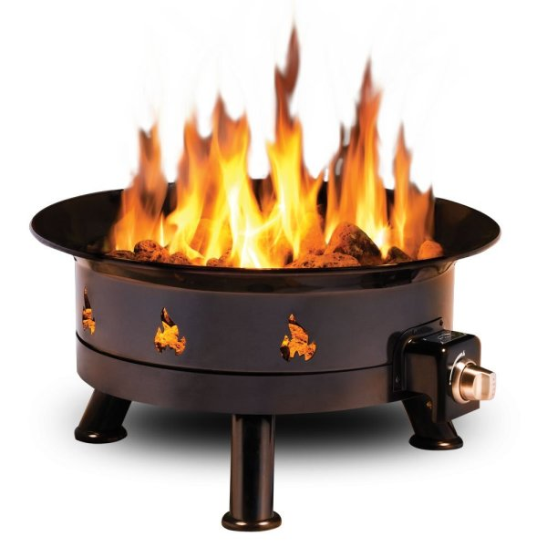 Portable Propane Fire Pit Outdoor Pits Fireplaces & Grills